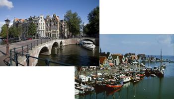 Afbeelding 1 van Amsterdam en Volendam