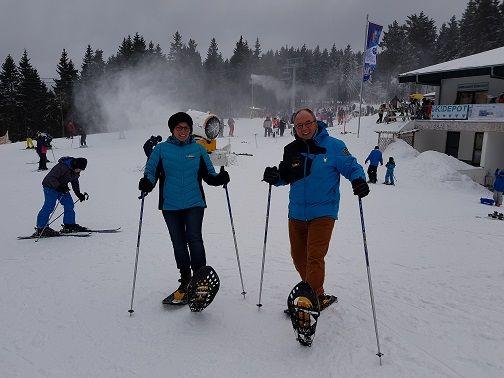 Afbeelding 1 van 3 daagse busreis sneeuwwandelen Winterberg