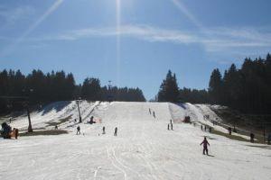 Schoolreis skiën op de Sahnehang berg